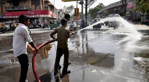 Temperature soars in Rajasthan